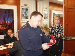 Віталій Миронюк привітав спортсмена-рятувальника Миколу Гуньку з перемогою у змаганнях
