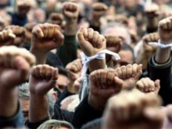В Кировограде состоялась акция протеста против новых редакций Трудового кодекса
