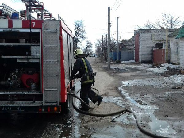 Кіровоградська область: Під час пожежі у гаражі травмувався 43-річний чоловік