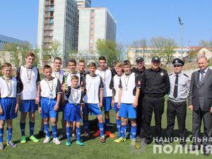 Поліція Кіровоградщини провела турнір із міні-футболу для дітей