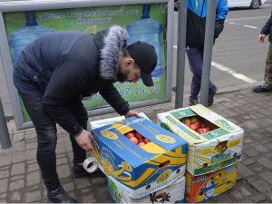 У кропивницького продавця «з асфальту» відібрали яблука