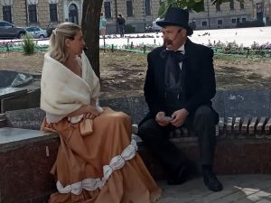 У Кропивницькому пройшла театралізована екскурсія (ФОТО)