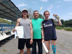 Веслярі з Кропивницького завоювали три медалі на чемпіонаті України