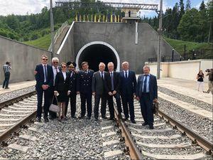 Завершили будівництво та ввели в експлуатацію Бескидський залізничний тунель (ФОТО)