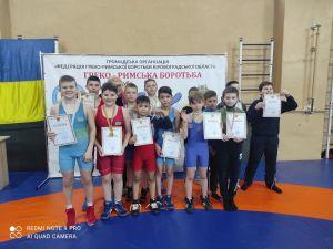 Кропивницькі борці завоювали дванадцять нагород на чемпіонаті області