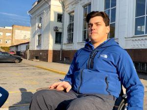 У Кропивницькому триває перевірка залізничного вокзалу на доступність для людей з інвалідністю (ВІДЕО)