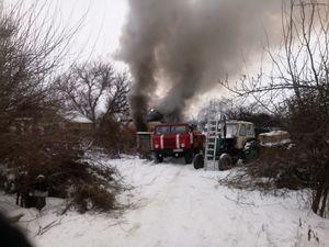 На Кіровоградщині під час пожежі загинула 55-річна жінка (ФОТО)