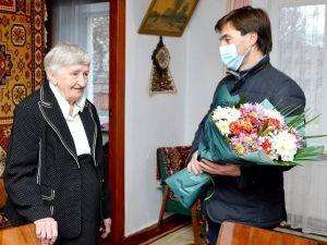 У Кропивницькому привітали визволительку міста від нацистської окупації