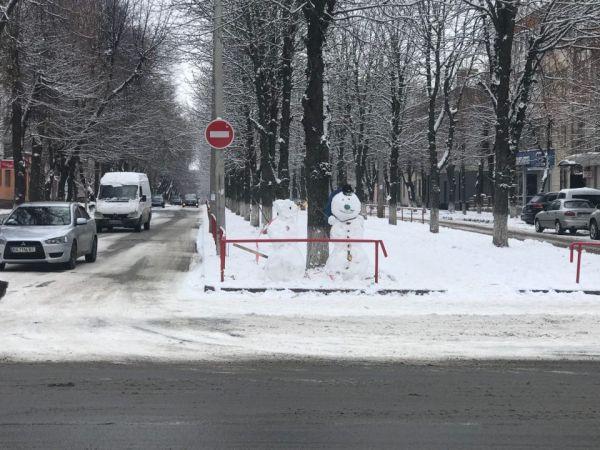 Кропивницький засніжило - як виглядає зимове місто (ФОТО)