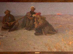 Виставку однієї картини відкрили в Кропивницькому (ВІДЕО)