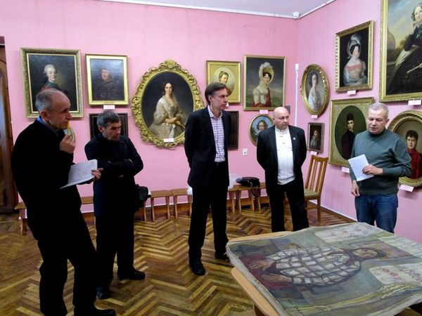 Колекція художнього музею поповнилась новою картиною нашого земляка-художника