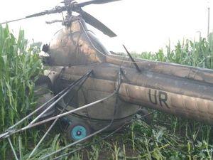 Пілот з Кіровоградщини спричинив знеструмлення п'яти сіл на Чернігівщині (ФОТО)