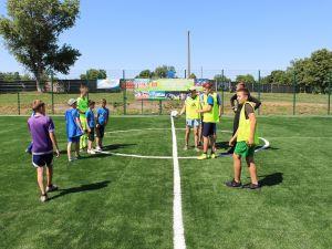 Кіровоградщина: В Маловисківській об'єднаній громаді відкрили футбольний майданчик