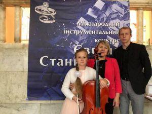 Юна віолончелістка з Кропивницького успішно виступила на конкурсі Євгена Станковича