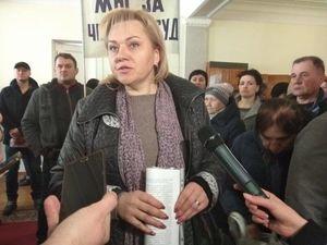 Підприємці ринку «Європейського» протестують у міській раді Кропивницького (ФОТО)