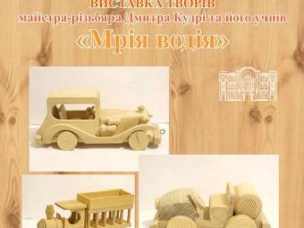 У Кропивницькому в художньому музеї відкривається виставка майстра-різьбяра