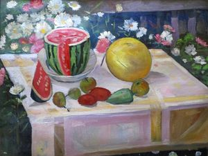 Микола Цуканов презентував художньому музею картини місцевих художників (ФОТО)