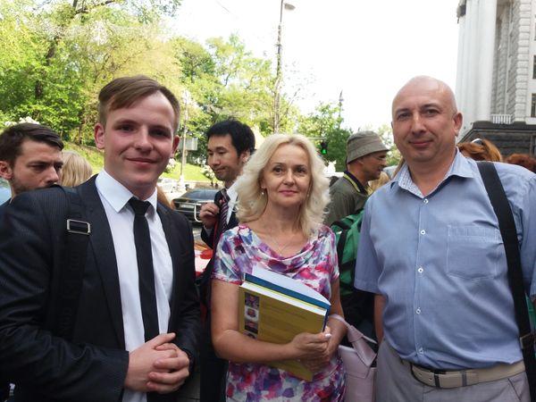"""Кропивницькі націоналісти долучились до Всеукраїнського форуму """"За українську мову"""""""