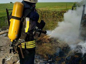 Кіровоградська область: За добу сталося п'ять пожеж