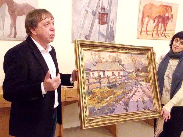 У галереї «Єлисаветград» презентували творчість закарпатської школи живопису (ФОТОРЕПОРТАЖ)