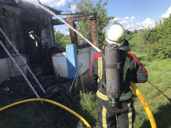 На Кіровоградщині у селі Могильне згорів приватний будинок