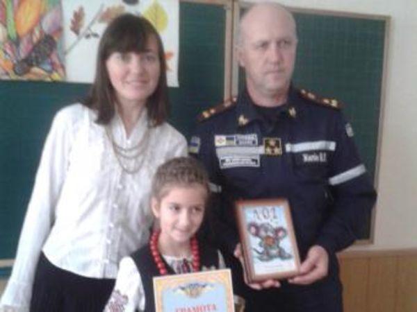 Учениця гімназії Шевченка стала переможницею міського конкурсу «Збережи своє життя»