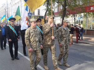 До громадської ходи з вшанування жертв Чорнобильської катастрофи долучилося близько 300 людей