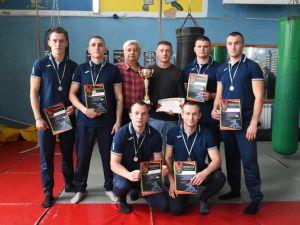 Рятувальники з Кропивницького вибороли II місце на змаганнях з панкратіону