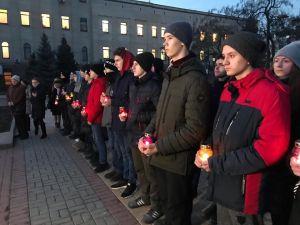 Кропивничани вшанували загиблих героїв Євромайдану (ФОТОРЕПОРТАЖ)