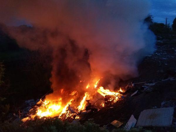 Кіровоградська область: На відкритих територіях горять сміття і дерева