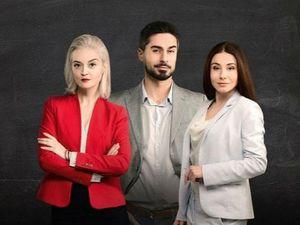 """Кропивницький зустрічає акторів серіалу """"Школа"""""""