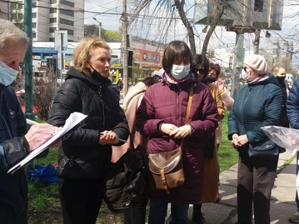 Кропивницькі активісти мають намір зберегти Центральний сквер (ФОТО)