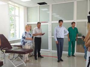 Станція переливання крові у Кропивницькому знаходиться на завершальному етапі ремонтних робіт (ФОТО)