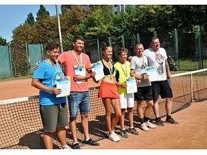 У Кропивницькому пройшов тенісний турнір, присвячений річниці Незалежності