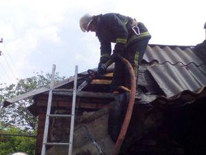 У Кропивницькому сталася пожежа на балконі