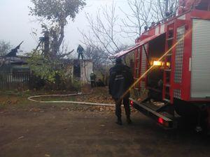 У Долинському районі під час пожежі загинув сорокарічний чоловік