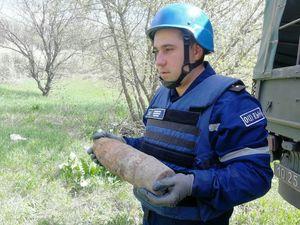 Кіровоградщина: Поблизу Новгородки знайшли 42 боєприпаси часiв Другої свiтової