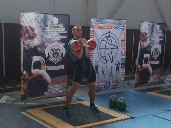Гирьовик із Кропивницького став чемпіоном України