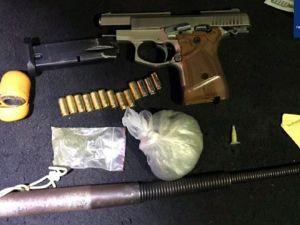 Кропивницький: ТОРівці виявили у кропивничанина пістолет та наркотики