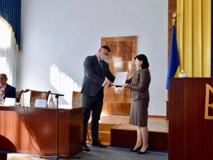 Нового голову Кіровоградської РДА офіційно представили адміністрації