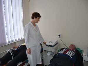 Обласний госпіталь придбав апарат магнітотерапії для лікування військових
