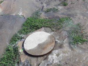 Кропивницький: На Вокзальній з каналізаційного люку витікає вода