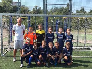 Кропивницькі юні футболісти перемогли у першому матчі чемпіонату області