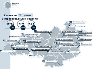 22 мешканця Кропивницького захворіли на коронавірус