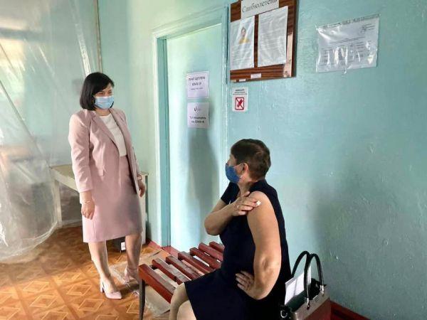 Марія Чорна без попередження перевірила центри вакцинації на Кіровоградщині