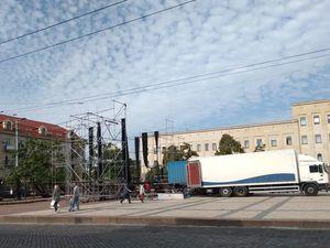 Кипить робота по підготовці до святкування Дня міста Кропивницького