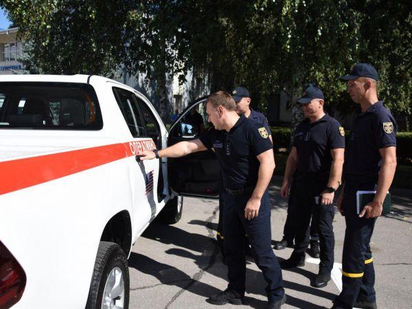 Кропивницький: Рятувальники отримали сучасний спецавтомобіль (ФОТО)