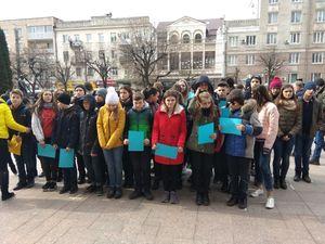 Як кропивничани підтримали полонених Москвою українців (ВІДЕО)