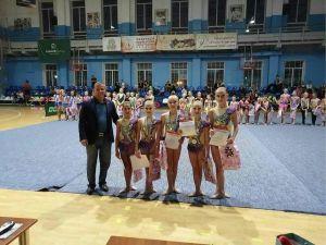 До Дня міста у Кропивницькому пройшов чемпіонат по гімнастиці