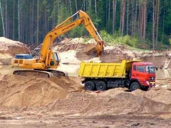На Обознівському родовищі встановили факт незаконного видобутку корисних копалин